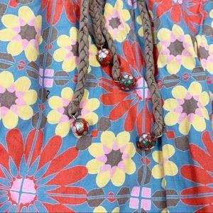 Anthropologie Dresses - Plenty Anthropologie Floral Strapless Skater Dress
